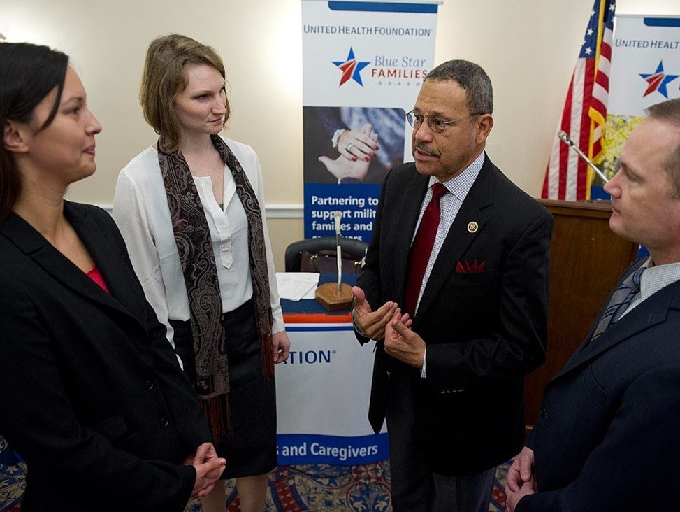 congressman and military caregivers